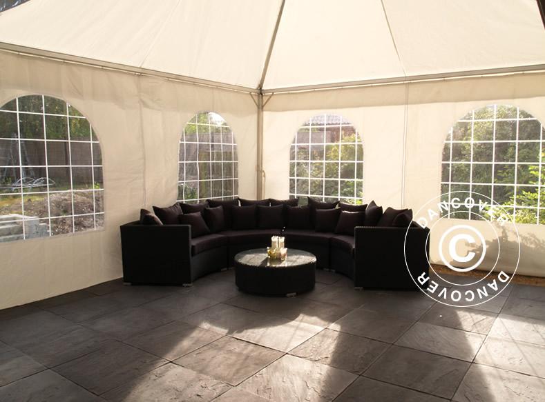 cosylifestyle sitzecke f r den garten partyzelte blog. Black Bedroom Furniture Sets. Home Design Ideas